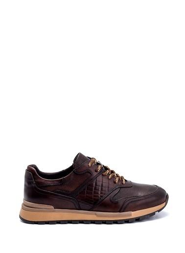Derimod Erkek Ayakkabı(9600) Sneaker Kahve
